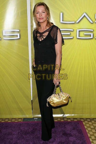 CHERYL LADD .Las Vegas Cocktail Party held at The Beverly Hilton, Beverly Hills, CA..July 24th, 2005.Photo credit: Jacqui Wong/AdMedia.full length black trousers top yellow gold silk satin louis vuitton bag purse.www.capitalpictures.com.sales@capitalpictures.com.© Capital Pictures.