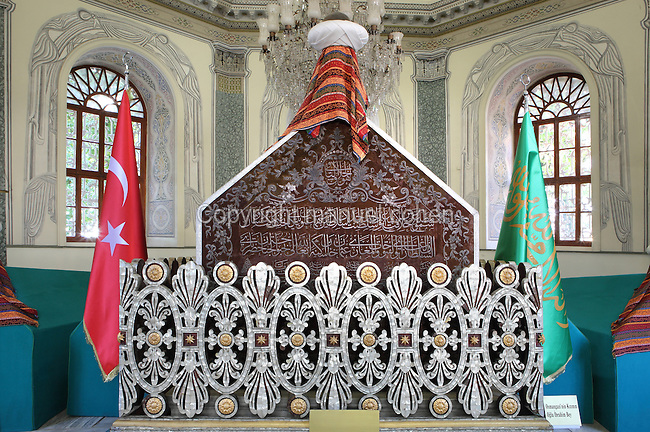 Tomb of Osman Gazi, Bursa, Turkey  Manuel Cohen