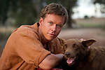 Todd Lasance as Quick Lamb and Bill the Red Kelpie - Photo by David Dare Parker