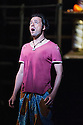 London, UK. 13.06.2014. Penny Woolcock's THE PEARL FISHERS returns to ENO, at the London Coliseum, as a co-production with the Metropolitan Opera, New York. Picture shows: John Tessier (Nadir). Photograph © Jane Hobson.
