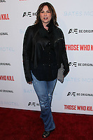 """HOLLYWOOD, LOS ANGELES, CA, USA - FEBRUARY 26: Kerry Ehrin at the Premiere Party For A&E's Season 2 Of """"Bates Motel"""" & Series Premiere Of """"Those Who Kill"""" held at Warwick on February 26, 2014 in Hollywood, Los Angeles, California, United States. (Photo by Xavier Collin/Celebrity Monitor)"""