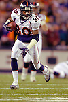 17 December 2005: Denver Broncos wide receiver Rod Smith runs for additional yardage after receiving a pass against the Buffalo Bills at Ralph Wilson Stadium in Orchard Park, NY. The Broncos defeated the Bills 28-17. .Mandatory Photo Credit: Ed Wolfstein