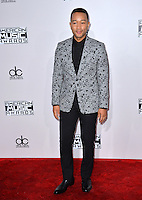 LOS ANGELES, CA. November 20, 2016: Singer/songwriter John Legend at the 2016 American Music Awards at the Microsoft Theatre, LA Live.<br /> Picture: Paul Smith/Featureflash/SilverHub 0208 004 5359/ 07711 972644 Editors@silverhubmedia.com