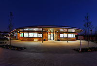 West Thurrock Primary by Atkins Architects: Dusk