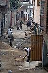 A street in Lahore, Pakistan