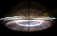 Picture by Alex Whitehead/SWpix.com - 04/03/2016 - Cycling - 2016 UCI Track Cycling World Championships, Day 3 - Lee Valley VeloPark, London, England - A General View (GV).