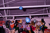 Ballons during the Wowser Bowser show, CAM, Hopscotch Music Festival, Raleigh, N.C., Friday, September 7, 2012