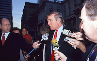 Donald Trump 1993 NYC By Jonathan Green