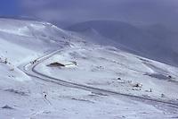 Selim Pass (2400 m), Armenia, February 2014