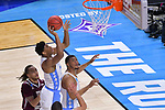 GREENVILLE, SC - MARCH 17: Isaiah Hicks (4) of the University of North Carolina takes a shot during the 2017 NCAA Men's Basketball Tournament held at Bon Secours Wellness Arena on March 17, 2017 in Greenville, South Carolina. (Photo by Grant Halverson/NCAA Photos via Getty Images)