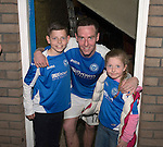 St Johnstone v Motherwell.....19.05.13      SPL.Steven MacLean with his children..Picture by Graeme Hart..Copyright Perthshire Picture Agency.Tel: 01738 623350  Mobile: 07990 594431