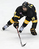 Trey Bradley (CC - 14) - The Boston College Eagles defeated the visiting Colorado College Tigers 4-1 on Friday, October 21, 2016, at Kelley Rink in Conte Forum in Chestnut Hill, Massachusetts.The Boston College Eagles defeated the visiting Colorado College Tiger 4-1 on Friday, October 21, 2016, at Kelley Rink in Conte Forum in Chestnut Hill, Massachusett.