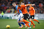 Dundee United v St Johnstone....21.11.15  SPFL,  Tannadice, Dundee<br /> Steven MacLean battles with Mark Durnan<br /> Picture by Graeme Hart.<br /> Copyright Perthshire Picture Agency<br /> Tel: 01738 623350  Mobile: 07990 594431