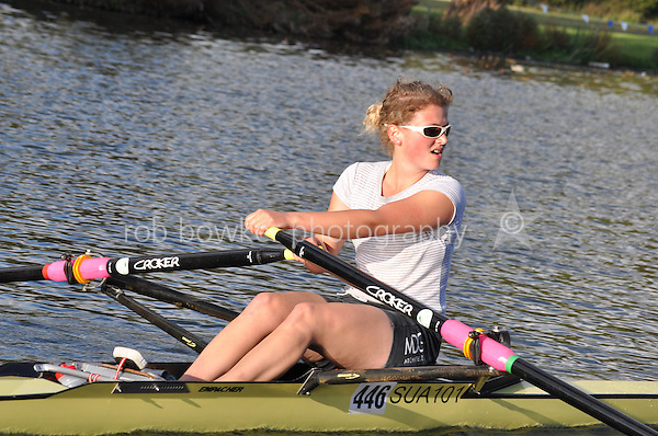 446 WRG .Reading Rowing Club Small Boats Head 2011. Tilehurst to Caversham 3,300m downstream. Sunday 16.10.2011