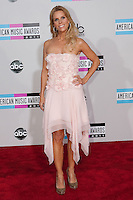 11/20/11 Los Angeles, CA: Cheryl Hines during the arrivals at the 2011 American Music Awards held at the Nokia Theatre.
