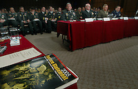 The military's top leaders are questioned by members of the Senate Armed Services Committee on the state of military forces fighting the war on terrorism.