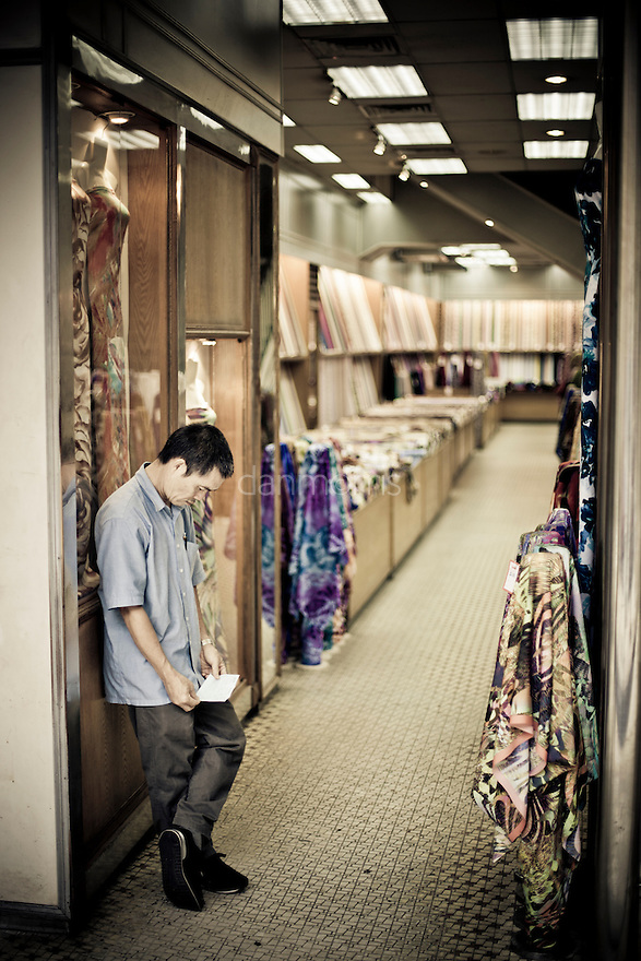 Dress salesman in Kuala Lumpur