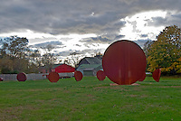 New York, Bridgehampton. Sculpture, South Fork, Long Island