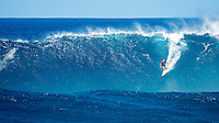Waimea Bay, North Shore, Oahu, Hawaii (Wednesday, February 10 2016):  Tom Carroll (AUS) The Quiksilver In Memory of Eddie Aikau was given the Green light 'Go' signal two days ago with a forecasted big swell due to hit on Wednesday morning. Everything was put in place for the event to kick off with some contestants flying into Hawaii from Chile, France, Australia and the US mainland. Unfortunalty the predicted swell failed to arrive as predicted as the storm front moved North of the islands forcing the postponement . <br /> Photo: joliphotos.com