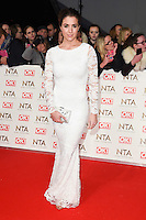 Gemma Atkinson at the National TV Awards 2017 held at the O2 Arena, Greenwich, London. <br /> 25th January  2017<br /> Picture: Steve Vas/Featureflash/SilverHub 0208 004 5359 sales@silverhubmedia.com