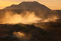 Iceland; Myvatn; Namafjall; Thingeyjarsyslur