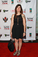 LOS ANGELES, CA, USA - OCTOBER 26: Katayoun A. Marciano arrives at An Evening Of Art With Billy Morrison And Joey Feldman Benefiting The Rock Against MS Foundation held at Village Studios on October 26, 2014 in Los Angeles, California. (Photo by David Acosta/Celebrity Monitor)