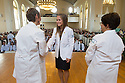 Christa Zehle, M.D., Erin Pichiotino, Tania Bertsch, M.D. Class of 2017 White Coat Ceremony.