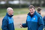 St Johnstone Training&hellip;14.04.17<br />Manager Tommy Wright pictured during training at McDiarmid Park this morning ahead of tomorrow&rsquo;s game against Aberdeen.<br />Picture by Graeme Hart.<br />Copyright Perthshire Picture Agency<br />Tel: 01738 623350  Mobile: 07990 594431