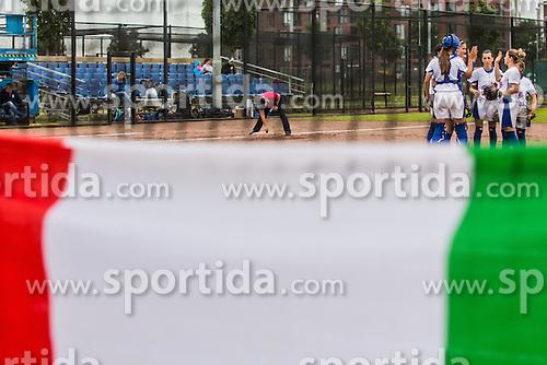 Italy vs Greece during XIX European Softball Fastpitch  Championship Women, on July 20, 2015 in Rosmalen,  Netherlands. Photo by Grega Valancic / Sportida