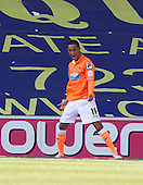 Thomas Ince, Blackpool FC shows his delight following his second strike - Millwall vs Blackpool - NPower Championship Football at the New Den, London - 18/08/12 - MANDATORY CREDIT: Ray Lawrence/TGSPHOTO - Self billing applies where appropriate - 0845 094 6026 - contact@tgsphoto.co.uk - NO UNPAID USE.