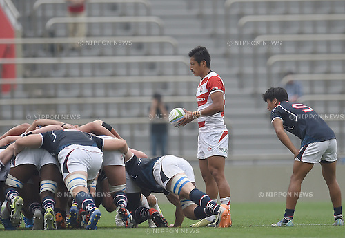 Keisuke Uchida (JPN), MAY 28, 2016 - Rugby : Asia Rugby Championship game between Japan 59-17 Hong Kong at Prince Chichibu Memorial Stadium in Tokyo, Japan. (Photo by AFLO)