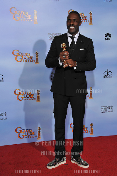 Idris Elba at the 69th Golden Globe Awards at the Beverly Hilton Hotel..January 15, 2012  Beverly Hills, CA.Picture: Paul Smith / Featureflash