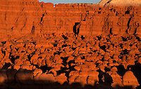 751000020 hoodoo formations in the high desert of goblin valley state park utah united states