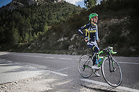 Simon Yates (GBR/Orica-Scott) preparing/training for the 2017 season on the Coll de Rates (alt 626m/Alicante/Spain) in january
