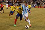 Friendly match between Argentina Vs Ecuador in New Jersey