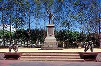 Statue of Costa Rican hero Juan Santamaria in the town of Alajuela, Costa Rica