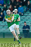 Daniel Collins Kerry in action against  Limerick in the Munster Hurling League Round 4 at the Gaelic Grounds, Limerick on Sunday.