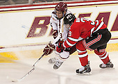 Ian McCoshen (BC - 3), Ryan Haggerty (RPI - 39) - The Boston College Eagles defeated the visiting Rensselaer Polytechnic Institute Engineers 7-2 on Sunday, October 13, 2013, at Kelley Rink in Conte Forum in Chestnut Hill, Massachusetts.