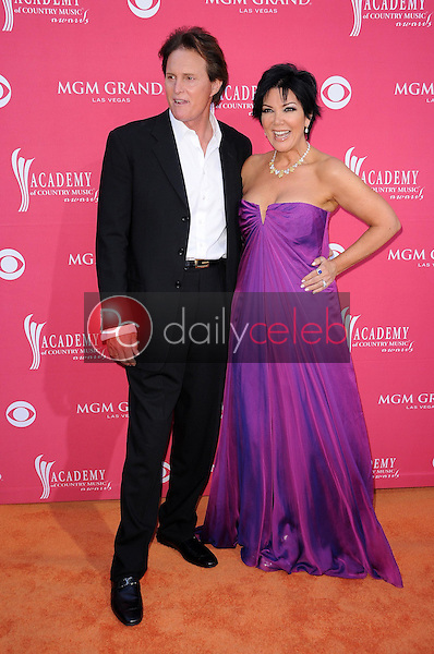 Bruce Jenner and Kris Jenner<br />at the 44th Annual Academy of Country Music Awards. MGM Grand Garden Arena, Las Vegas, NV. 04-05-09<br />Dave Edwards/DailyCeleb.com 818-249-4998