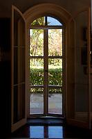 Ernest Hemingway Home Doors, Key West, Florida