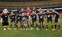 DC United Team Photo.  San Jose Earthquakes defeated DC United 2-0 at RFK Stadium, October 9, 2010.