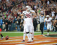 GLENDALE, AZ - January 2, 2012 - Stanford Cardinal football plays Oklahoma State in the Fiesta Bowl at University of Phoenix Stadium in Glendale, Arizona.