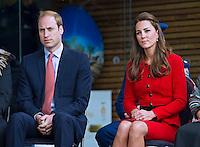 Kate, Duchess of Cambridge & Prince William visit Christchurch - New Zealand