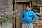 Teresa Galarza is the second in charge of the remote Guarani indigenous village of Kapiguasuti, Bolivia, where she and many of her neighbors have improved their family's nutrition by starting vegetable gardens with assistance from Church World Service.