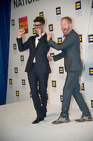 Washington DC,September 10, 2016, USA:  Jessie Tyler Fergunson and  Mikita attend  20th Annual Human Rights Campaign (HRC) dinner takes place in Washington DC. Speakers and entertainment includes, Senator Tim Kaine, D-VA, Congressman John Lewis, D-GA, Nyle DiMarco, first Deaf person to win America's Top Model(Cycle 22) and Dancing with the Stars (Season 22) Actor Billy Porter, singer Estelle and actor Samira Wiley.  Patsy Lynch/MediaPunch