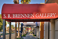 S.R. Brennen, El Paseo Drive; Palm Desert; CA; Art Gallery; famous; retailers; fashion; haute couture;