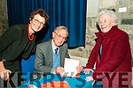 "Book Launch : Pictured at the launch of Listowel man Pat Given's book of Poetry "" October Stocktaking"" at St. John's Arts Centre, Listowel on Saturday night last were Joanne Galvin Stuelhar, Pat Given & Kathleen O'Brien."