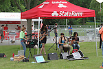 Atmosphere at Jennifer Lopez Performs at State Farm Neighborhood Sessions in Orchard Beach Bronx NY