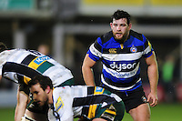 Nathan Catt of Bath Rugby looks on. Aviva Premiership match, between Bath Rugby and Northampton Saints on February 10, 2017 at the Recreation Ground in Bath, England. Photo by: Patrick Khachfe / Onside Images