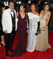 """NEW YORK CITY, NY, USA - MAY 05: David O. Russell, Selena Gomez, Diane Von Furstenberg, Jessica Alba at the """"Charles James: Beyond Fashion"""" Costume Institute Gala held at the Metropolitan Museum of Art on May 5, 2014 in New York City, New York, United States. (Photo by Xavier Collin/Celebrity Monitor)"""